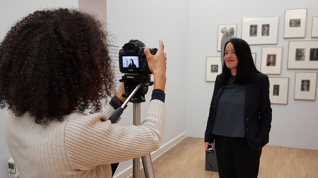 Videoreh im Georg Kolbe Museum
