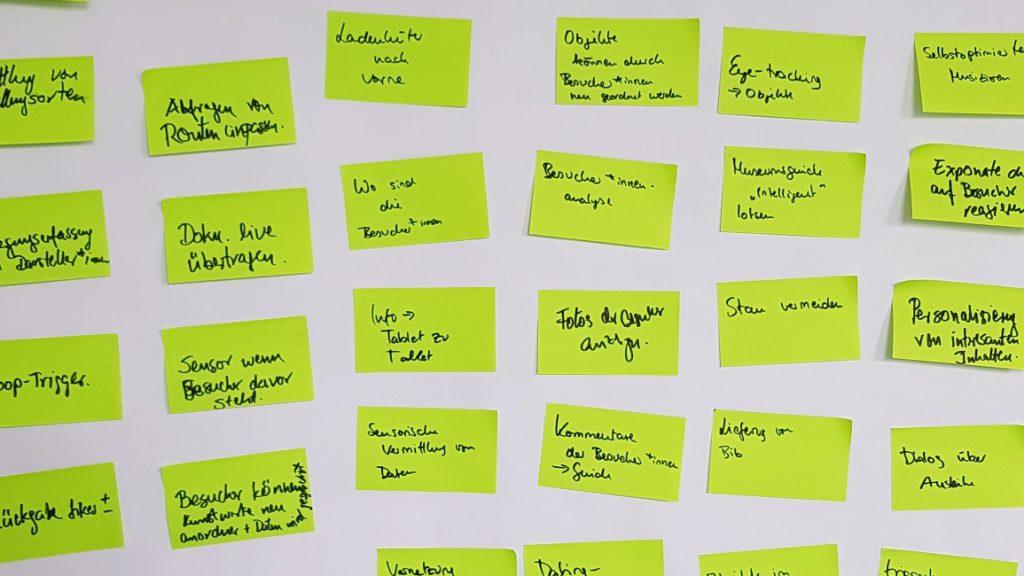 Brainstorming zum Einsatz von IoT Technologie