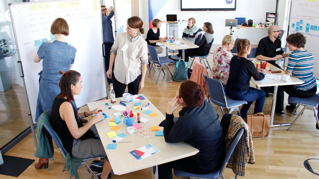 Open Minded Workshop von kulturBdigital zum Thema Bedarfe rund um Ticketing und Audience Development im Kultursektor