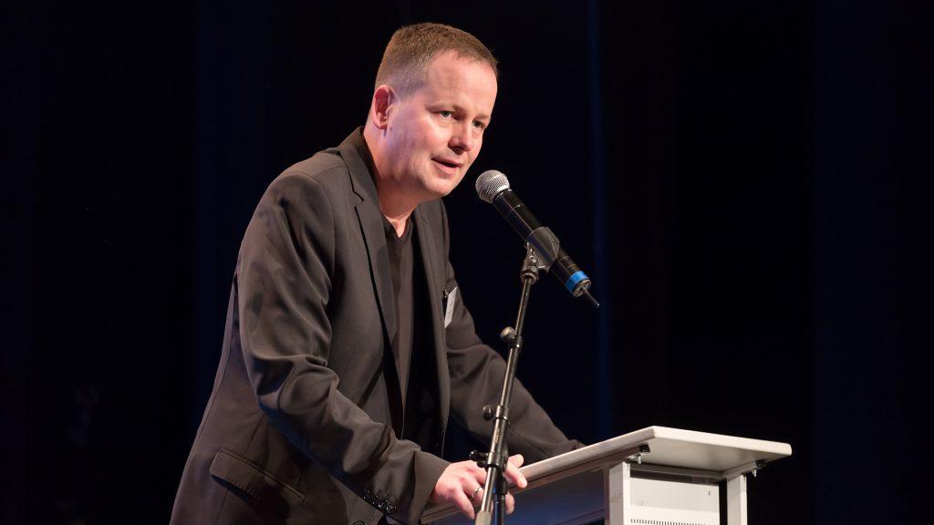 Klaus Lederer (Senator für Kultur und Europa) zu Planungen für einen Innovationsfonds zur Förderung der digitalen Entwicklung in Berlins Kulturbereich.