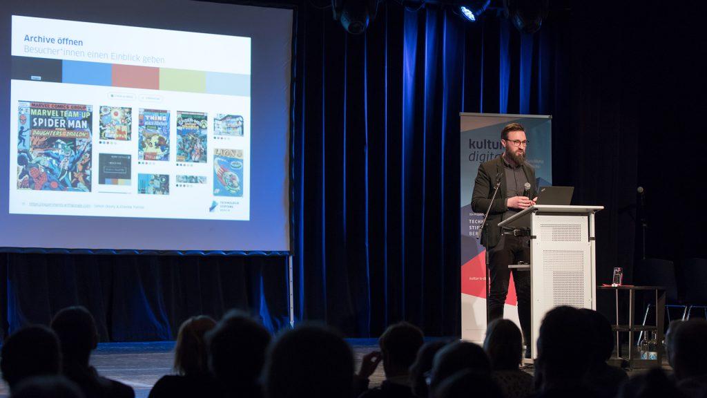 Dr. Sebastian Meier zu offenen Daten und digitalem Datenmanagement im Kulturbereich