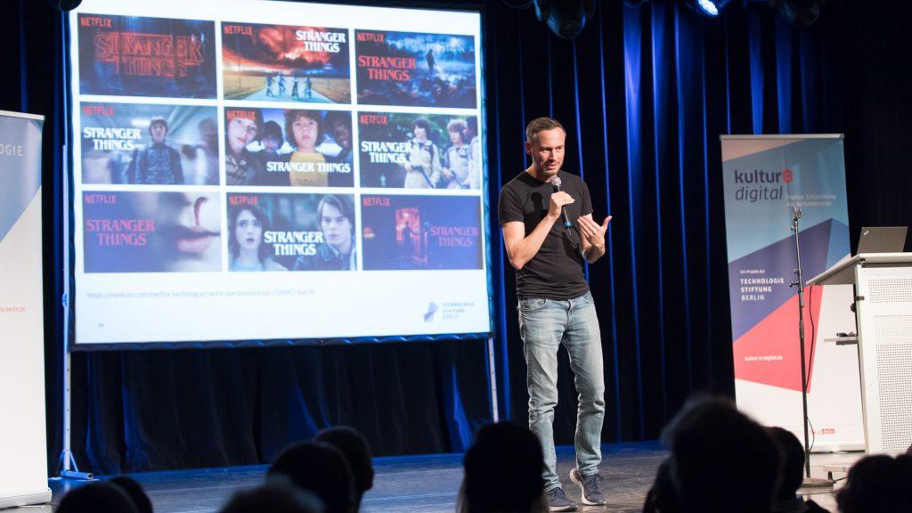Nicolas Zimmer über die digitale Transformation im Kulturbereich