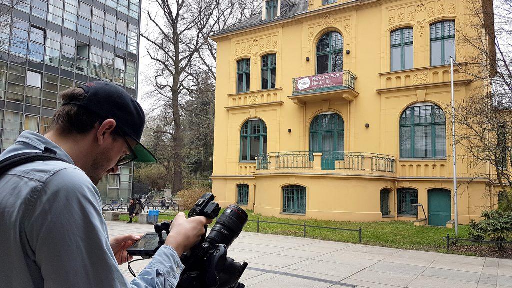Video-Dreh für das Kulturamt Steglitz-Zehlendorf