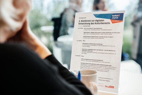 3. Konferenz zur digitalen Entwicklung des Kulturbereichs