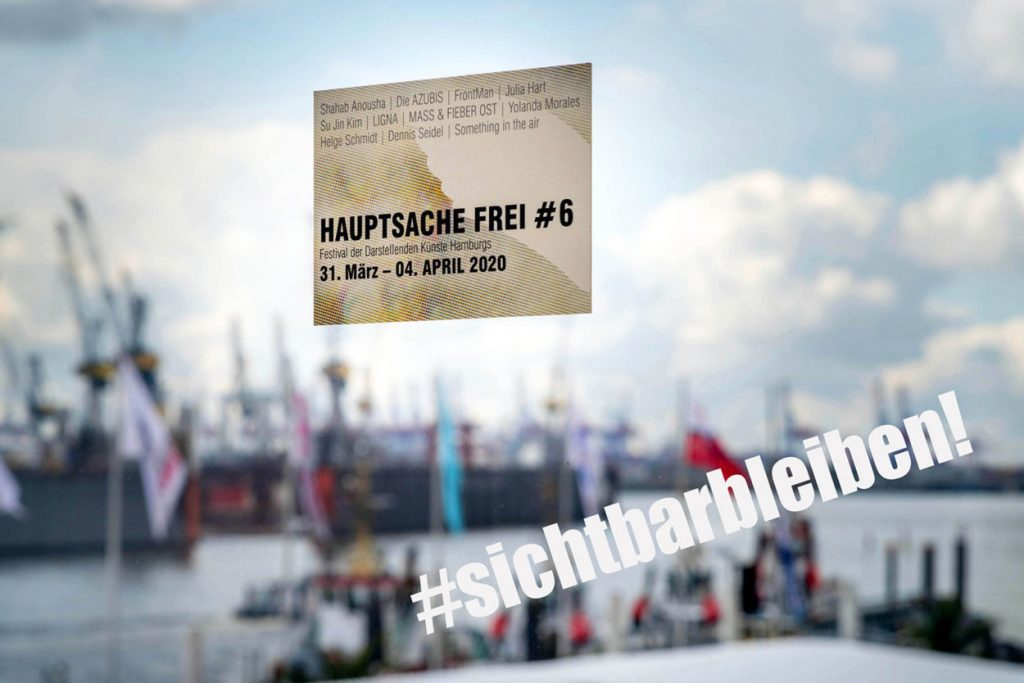 Hauptsache Frei Festival Hamburg als digitales Theaterfestival