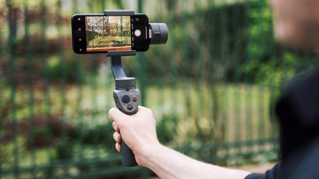 Stabilisierung für das Filmen mit dem Smartphone über ein Gimbal