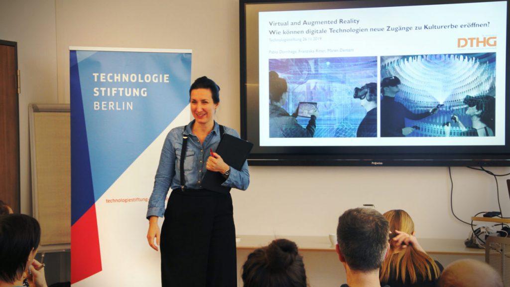Vortrag zu Virtual und Augmented Reality im Kultursektor