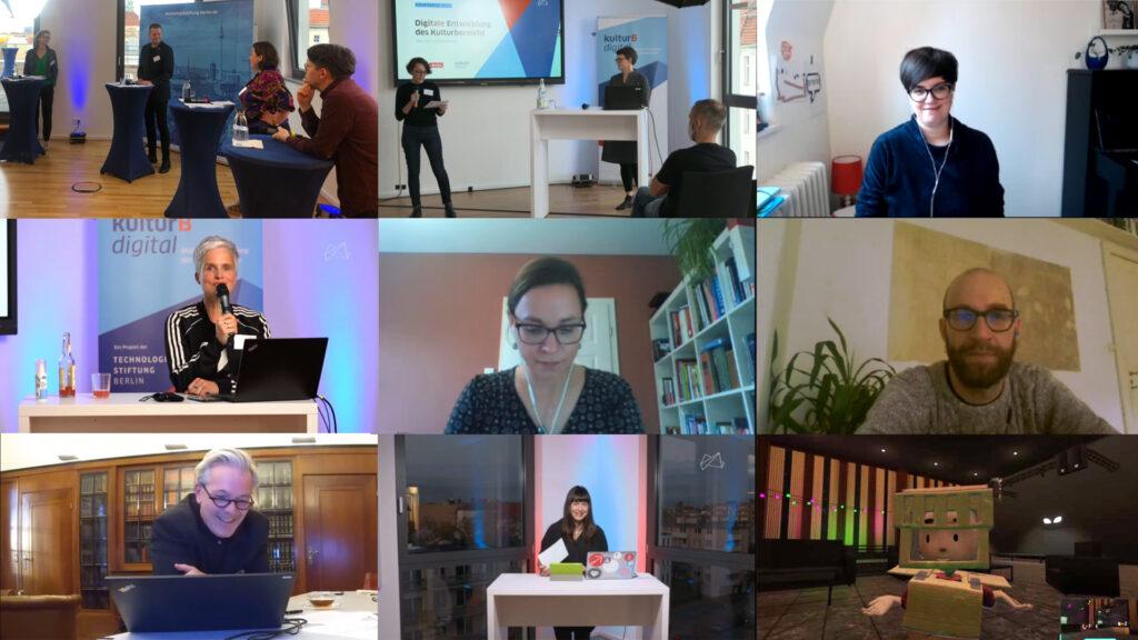 Szenen aus der kulturBdigital-Konferenz