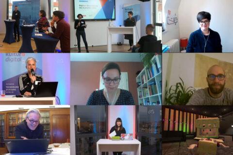 Konferenz zur digitalen Entwicklung des Kulturbereichs – Rückschau 2020