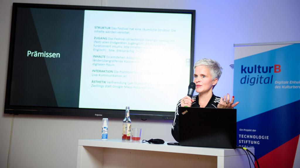 digitaler Kulturbetrieb: Birgit Lengers (Deutsches Theater) über das Online-Festival RadarOst Digital