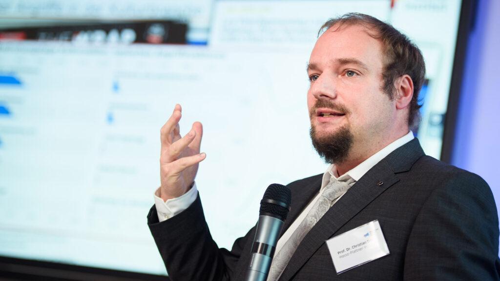 IT-Sicherheit im Kulturbereich Vortrag von Prof. Dr. Christian Dörr auf der 3. kulturBdigital Konferenz 2020