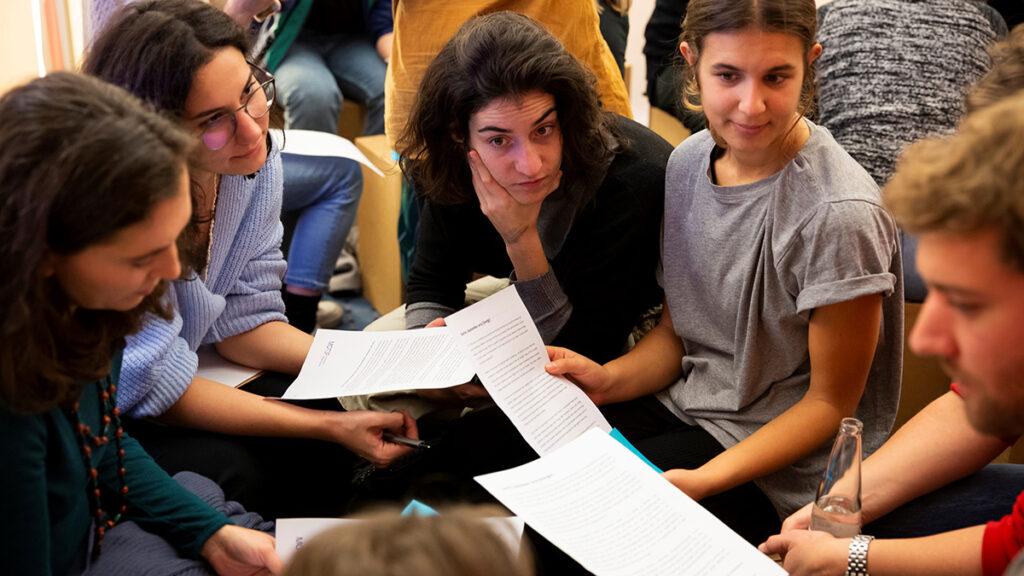 Zielgruppen-Partizipation bei einem Workshop des CityLAB Berlin