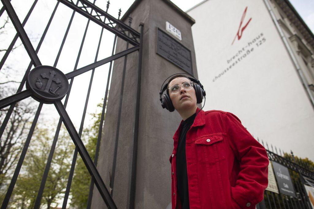 Audiowalks: Fallbeispiel Brecht Stirbt, eine Kooperation des Berliner Ensembles und Raum+Zeit